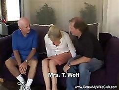 Blond slut doggystyled by her tutor