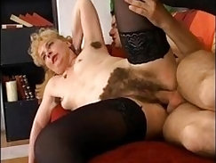anal first mama with hairy asshole