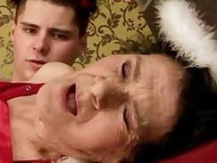 Amateur granny drilled rough