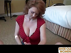 Crazy Blowjob By Experienced Redhead