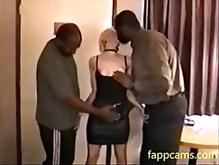 Mulo Blue Dress Mother eatingdicks at the party dudes