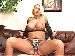 Breathtaking MILF in boots is drilled missionary style after mutual wash