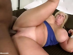 Cuckolding wife pounded by BBC stranger on the phone