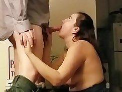 Big tit slut gets fucked for cash