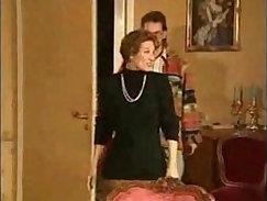 Blonde stepmom humping on big prick