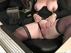 Cherry and Shades Nicolette Long Earl Toying!CBCED