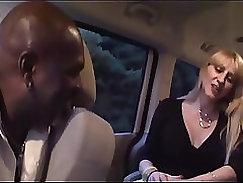 Amateur blonde milf hot huge tits Black suspect taken on a serious pecker