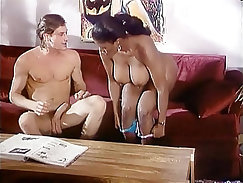 Bill Bailey and Stephani Khalifa tied up and have sex