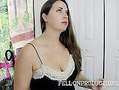 Slut mom Sheila Ferrari fucked by sons friend in the backyard