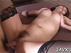 Pretty Latina Girl Fucked In Her Creampie