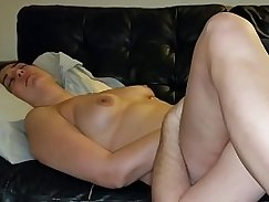 Creamy wet pussy creampie for a slut