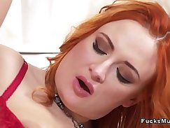 Hot Russian Busty BBC MILF Napping
