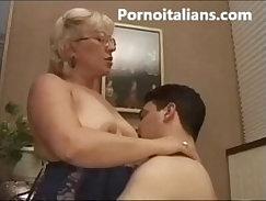 Blonde chick fucked in italian hotel