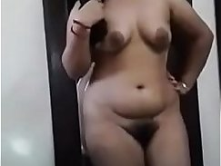 Sexy Indian Girl Sprayed By Husband