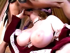 Crazy anal threesome sex in art roleplay video