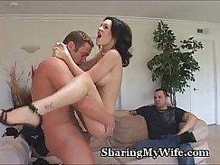 Wife riding her boyfriends cock