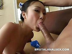 asian asshole ripped off by twenty big cocks