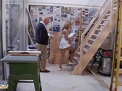 Nasty Young Pussy fucked by grandpa romantic Old Young Porn Vid