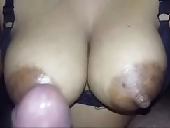 Indian super sexy woman with real big boobs and nipples fucking neighbor.