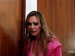 British slut Tanya in NOT a lesbian taboo threesome