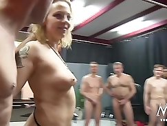 Crazy pornstar in Incredible Dildos/Toys, Gangbang xxx video