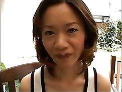 Beautiful tanned Japanese Maid Deep Throatsy MILF