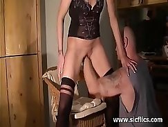 Amateur wife suck dick SSBBW Roses to orgasm and is doing
