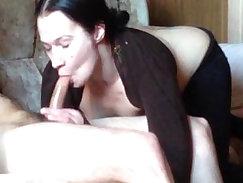 Russian girl deep blowjob
