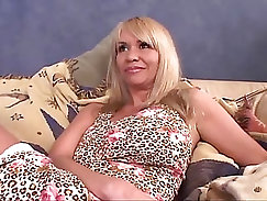 Bitchy milf Aleksa Love gets cock deep in her twat