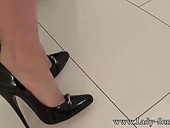Mrs parker scott playtime in high heels
