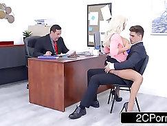 Busty Olivia Fox Using Her Big Tits To Her Companys Advantage