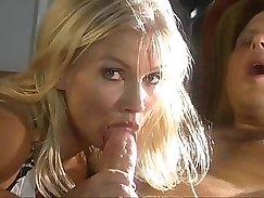 Blonde Sativa Vega anal fucked by Brandon