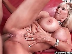 Beautiful mature milf amazing oral pleasures and cumshot