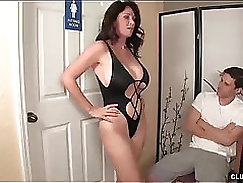 Cock Craving Step Mom Avi Gold Fucking Older Young Stepson