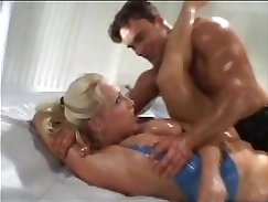 Aphrodisiac Small Teen Shot Taking Oil and Derailing In Slow Motion