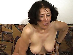 lovely that has nice round boobs is getting penetrated by her man