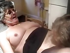 Blonde Granny Cow Girl Hungry For Spunk