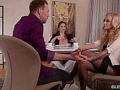 Cathy Heaven Busty For her first Date