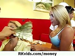 Cute teen gets cumdrilled for some money 19