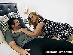 Crazy mom loves step son fuck and facial