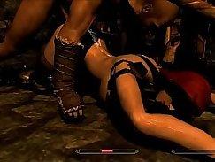 hot curvy bitch sucking