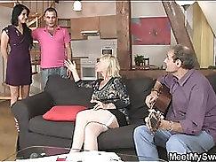 Beautiful mom - goes on to masturbate