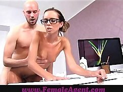 Hundred pound milf oiled by poly guy